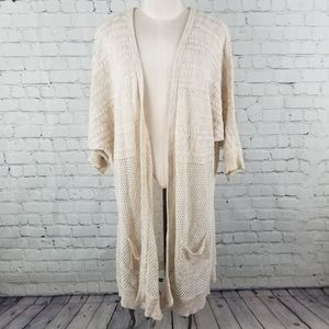 COTTON ON | knit duster open cardigan with pockets